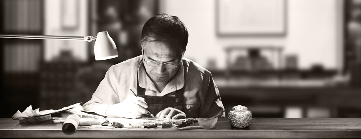 中国古法手工金器